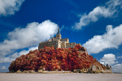Autumn Shades of Mont Saint-Michel