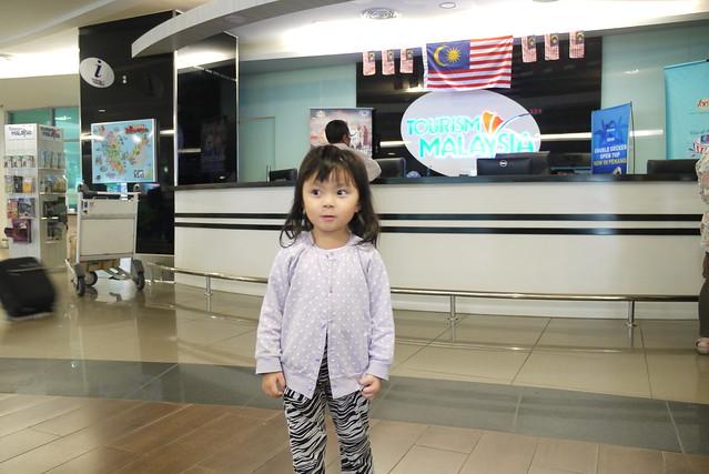 抵達檳城國際機場