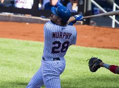 Daniel Murphy pops one up 3ed