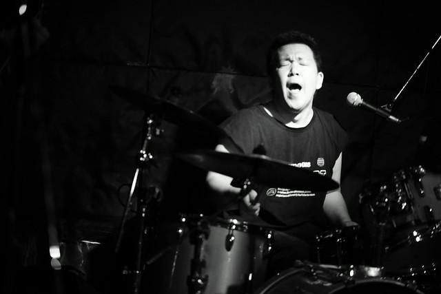 THE NICE live at Outbreak, Tokyo, 29 Sep 2015 - jam with Takayuki O.E. 497