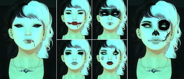 Halloween Makeups from PXL