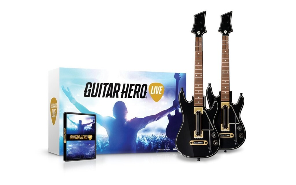 Guitar Hero Live 2-Pack Guitar Bundle for WII U $129.99 ...