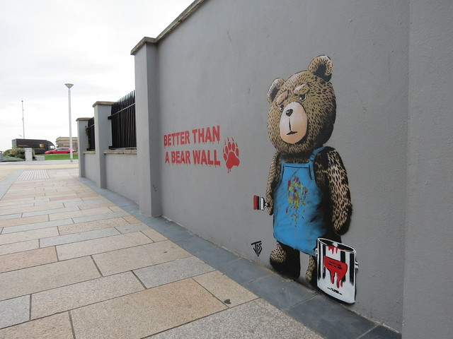 """Better than a bear wall"" by JPS"