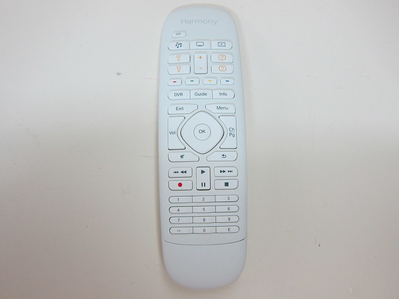 Logitech Harmony Home Control - Harmony Remote Control Front