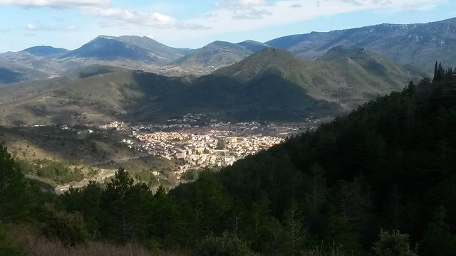 View of Quillan