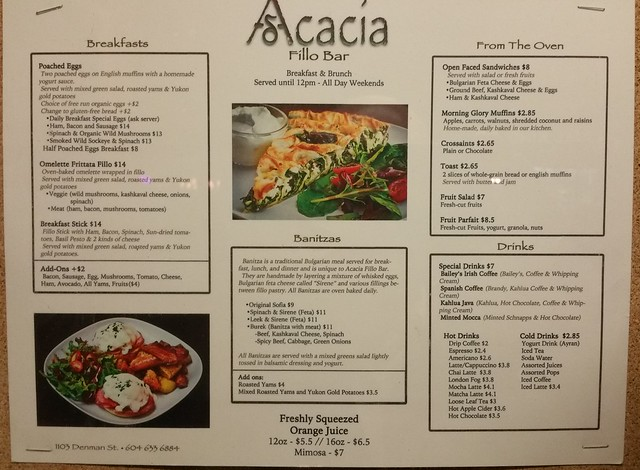 2015-Nov-3 Acacia Fillo Bar menu 1 of 2