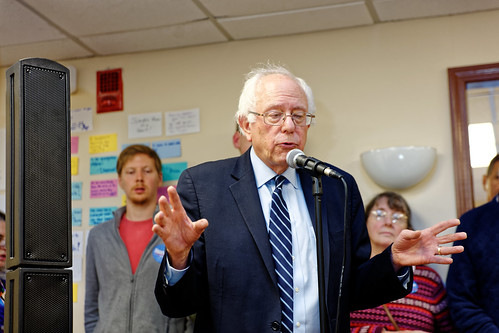 Senator of Vermont Bernie Sanders Nashua Campaign Field Office Oct. 30th 2015 by Michael Vadon