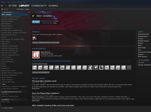 Több mint 1600 linuxos játék @ 2015 november