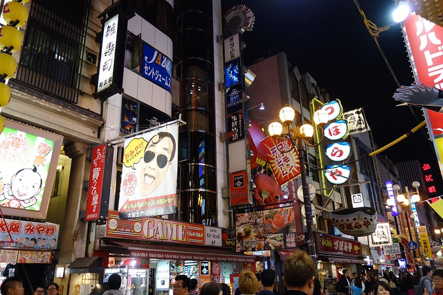 The lights of Dotonbori