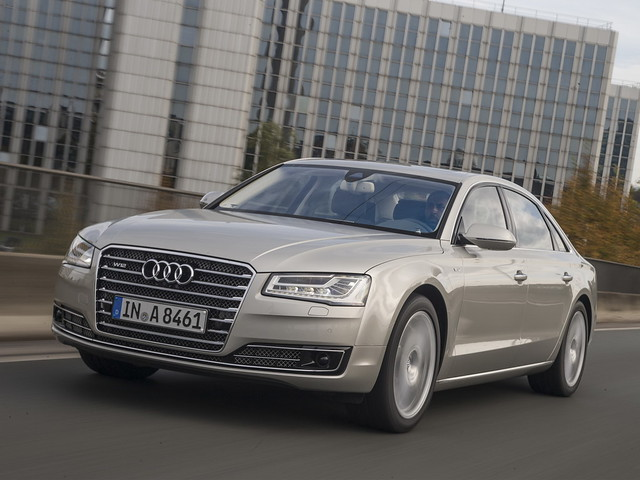 Рестайлинг Audi A8 2014 года