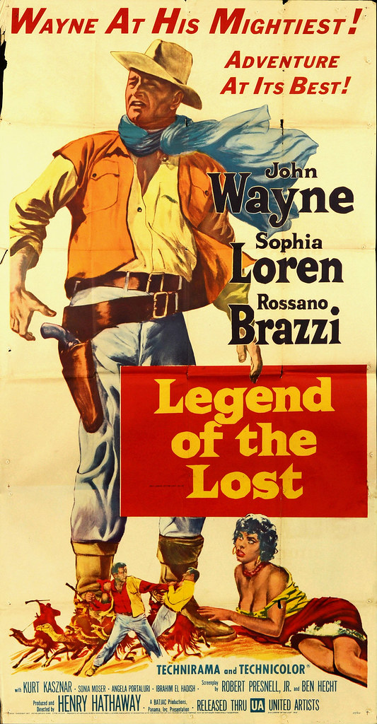 Legend of the Lost - Poster 2