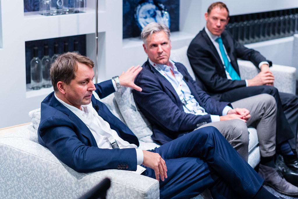 Tafelgast dr. Donald van der Peet spreekt gepassioneerd over de toekomst van de zorg
