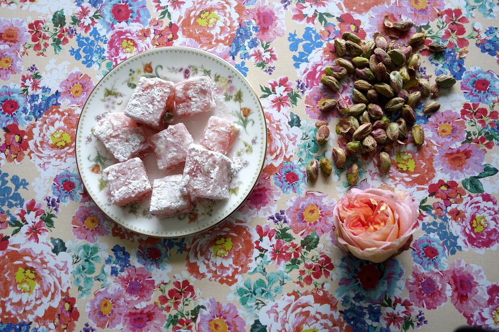 LiterEATure Series: The Lion, The Witch and The Wardrobe Rose and Pistachio Turkish Delight