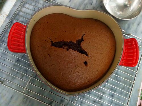 [第一試] 大人口味的可可棉花蛋糕