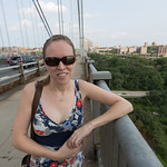 Emily on the GWB