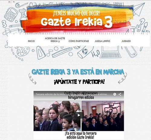 Gazte Irekia 3ª Edición