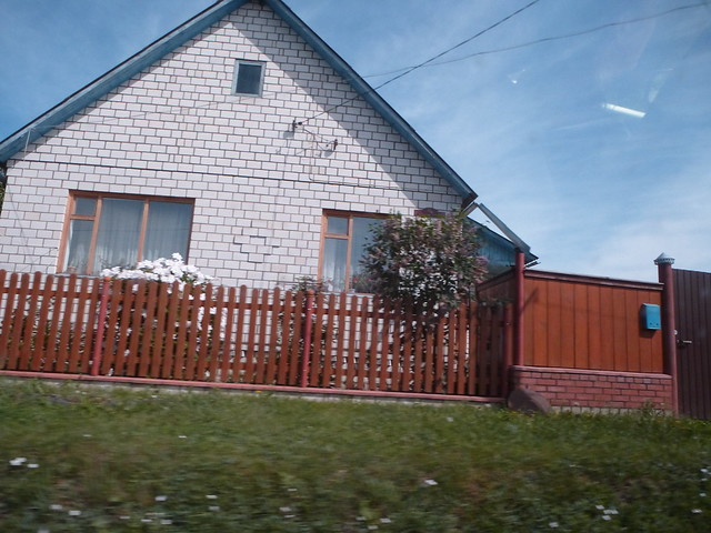House and fence