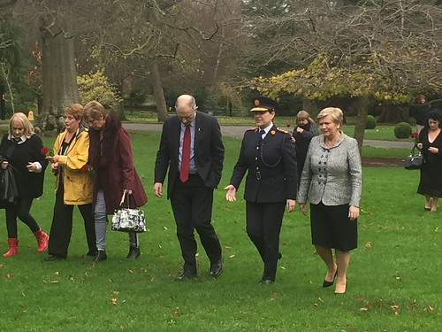 Minister Fitzgerald and Garda Commissioner Nóirín O'Sullivan attends the commemorative event on National Missing Persons Day 2015