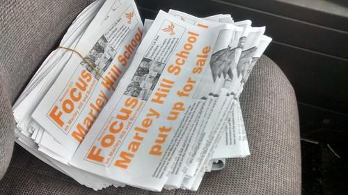 Marley Hill leaflet delivery Nov 15 (2)