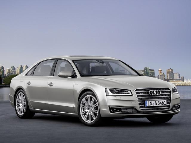 Audi A8 D4 рестайлинг