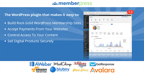 MemberPress v1.3.16 – WordPress Membership Plugin