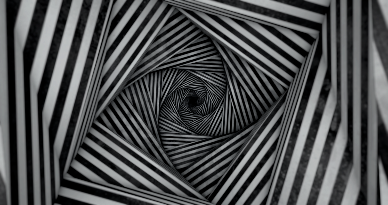 A ceiling conceived as a spiral