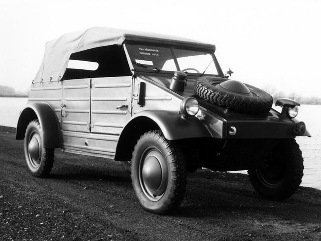 Volkswagen Typ 82 (Kfz.1). 1939 – 1945 годы