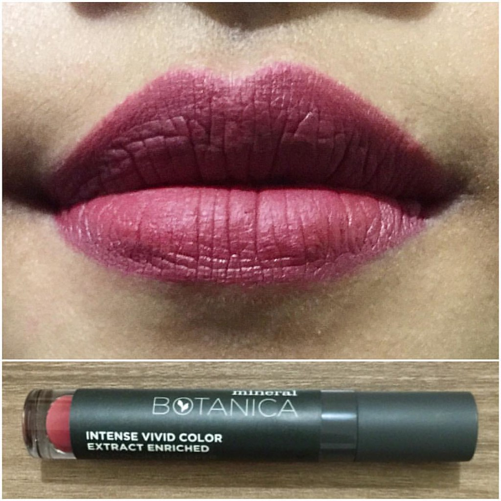 Mineral Botanica Lipcream 011 Merlot Ready Stock Online And Will Vivid Matte Lipstick Be Available In Stores