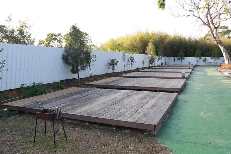 木棧板露營區