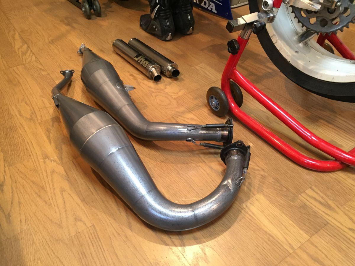 Honda NSR250R チャンバー#2