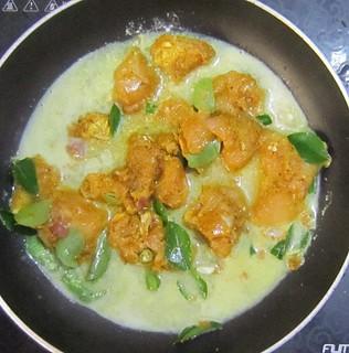 Chicken Mappas - Cooking Marinated chicken