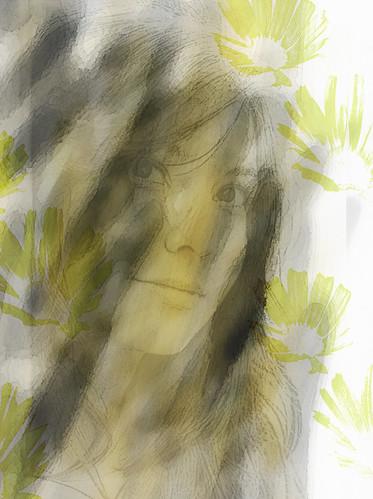 Ocre portrait