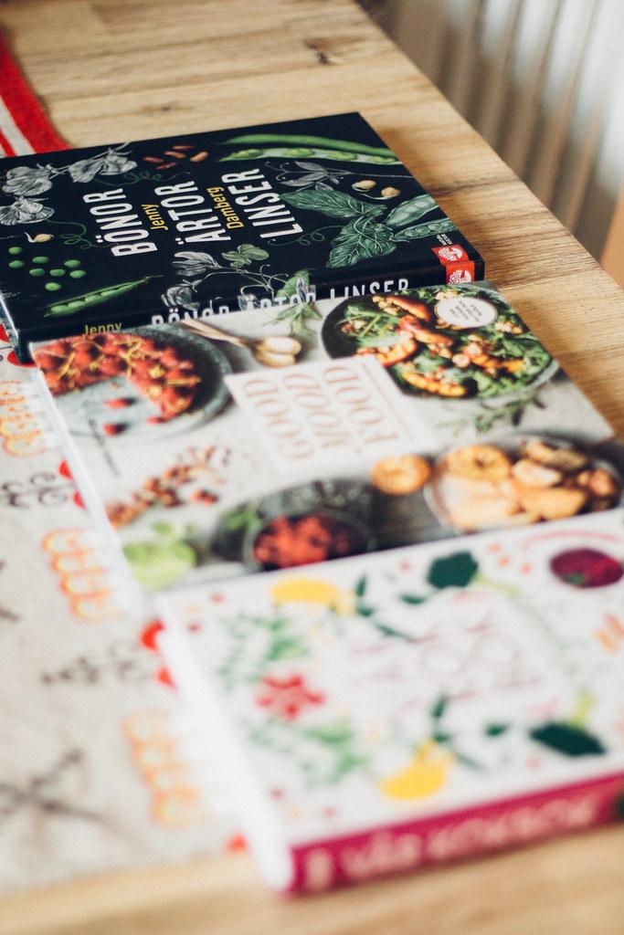 Vår Kokbok Vegan, Good Mood Food och Bönor, Ärtor & Linser | Matildigt