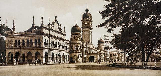 Sultan Abdul Samad Building circa 1920