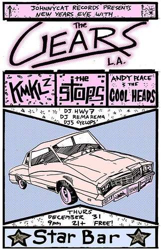 12/31/15 TheGears/Chemicals/TheStops/AndyPlaceandtheCoolheads