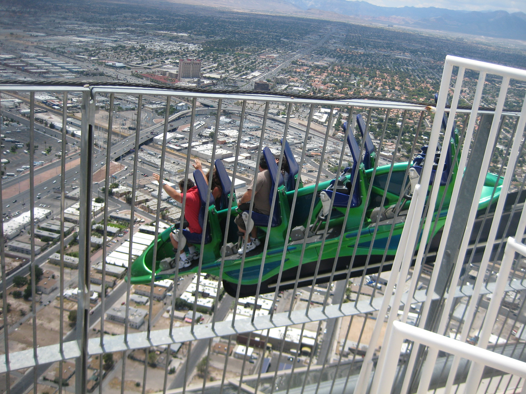 Stratosphere and Las Vegas 021