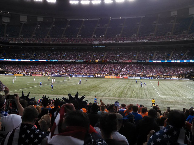 USA vs China at the Superdome