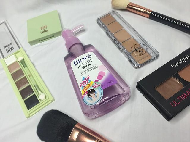 biore makeup removing oil
