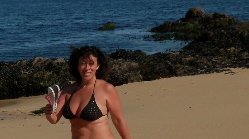 Pisando la playa sin chancletas