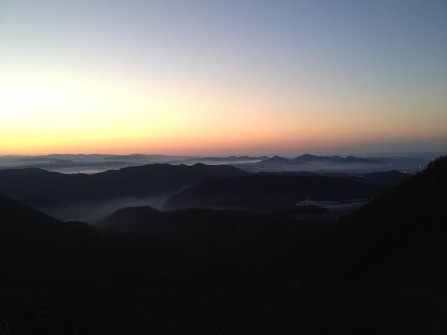明王山 雲海