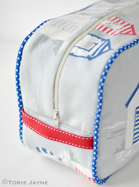 Handmade washbag tutorial