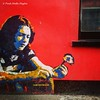 Mural of Rory Gallagher in Cork / Ireland