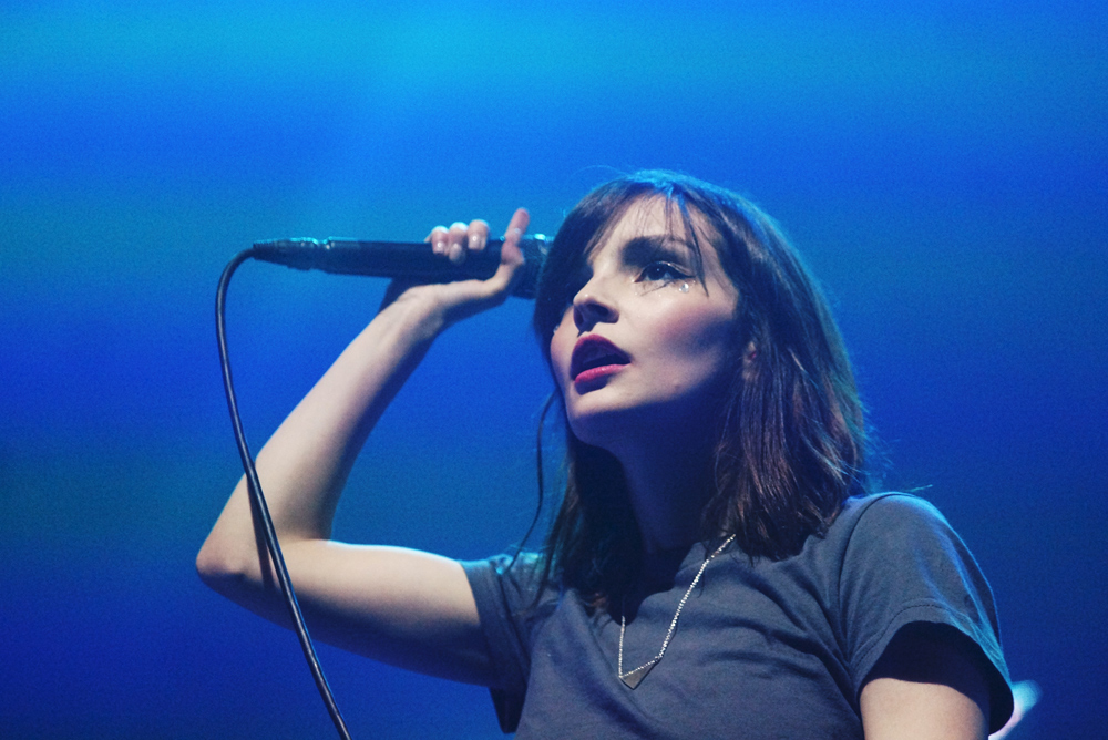 CHVRCHES @ Terminal 5, NYC (10/15/16)