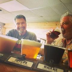 Happening now. Tupps Flight Night.  Brilliant!  #craftbeer #beer #ilovebeer #beerlove #texasbeer #drinklocal #drinkdfw