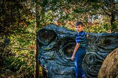 Liam at Rosette Rock
