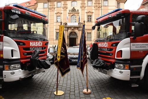 2016 - Slavnostní předání nového hasičského vozu