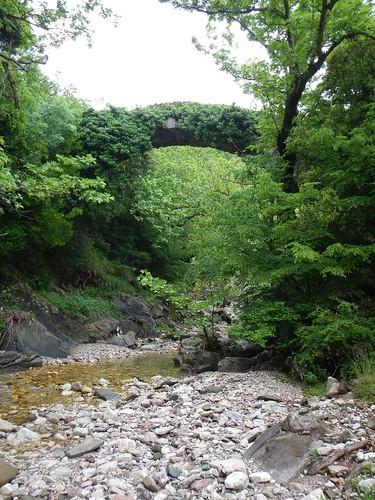 griechenland greece steinbrücke brücke