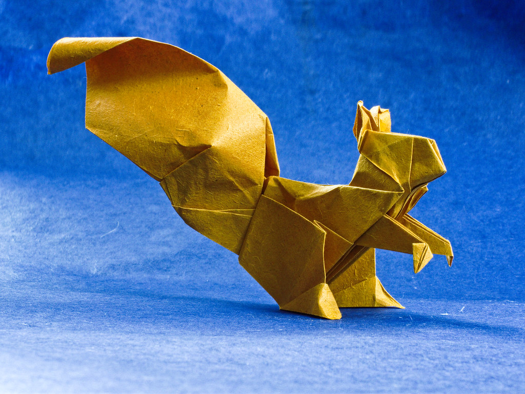 Step By Step Instructions How To Make Origami A Flying Squirrel ... | 769x1024