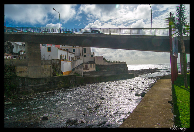Desembocadura río Ribeira do Purgar