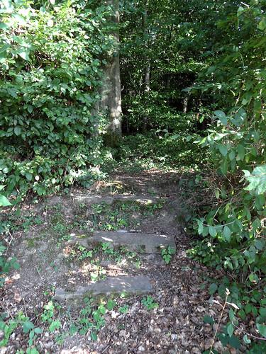 Zugang zum jüdischen Friedhof in Frücht